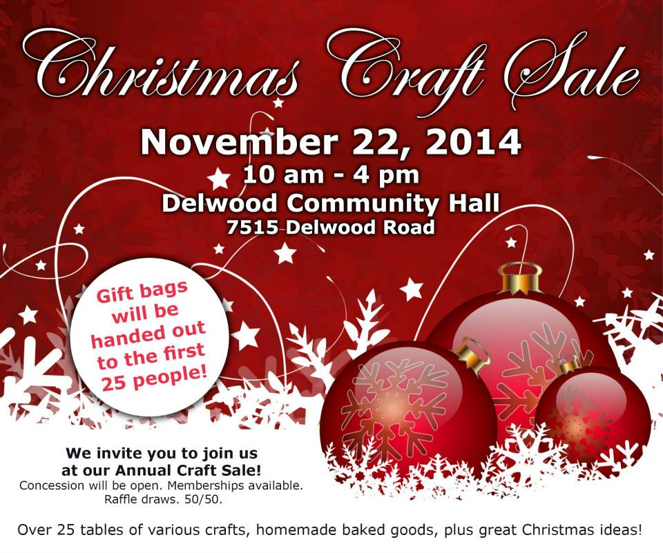 CraftSale Invite